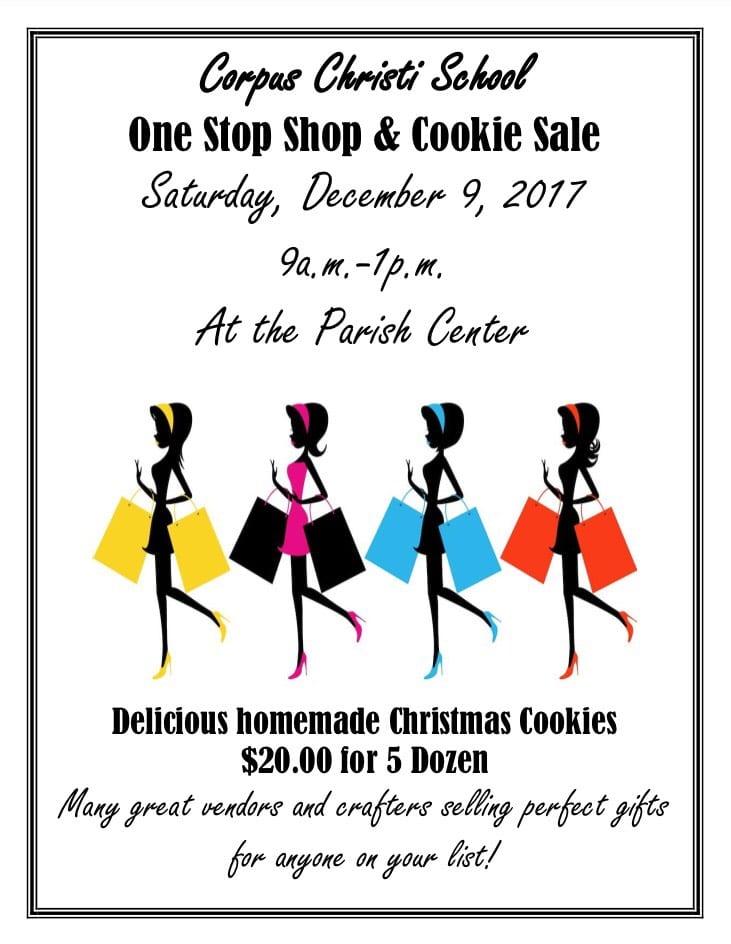 One Stop Shop Cookie Sale Corpus Christi School